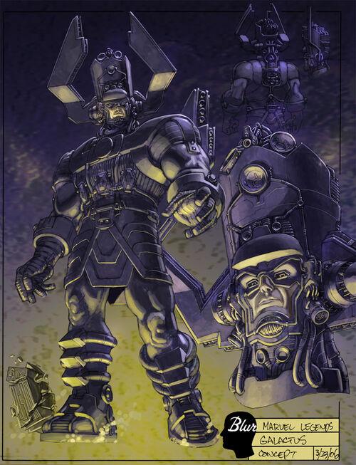 Concept-Art de Galactus