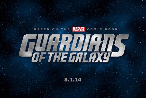 Primer Logo de Guardianes de la Galaxia