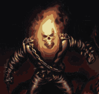 Ultimate Ghost Rider (Hecho con Illustrator)