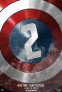 Capitan America 2 posible poster oficial