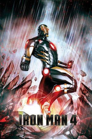 Primer Poster de Iron Man 4