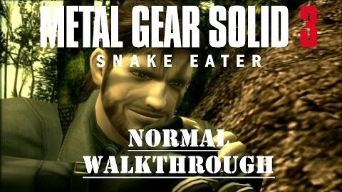 Metal Gear Solid 3 - Full Stealth Walkthrough - No Commentary