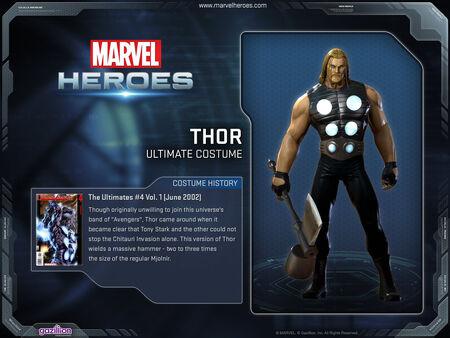 Costume thor ultimate