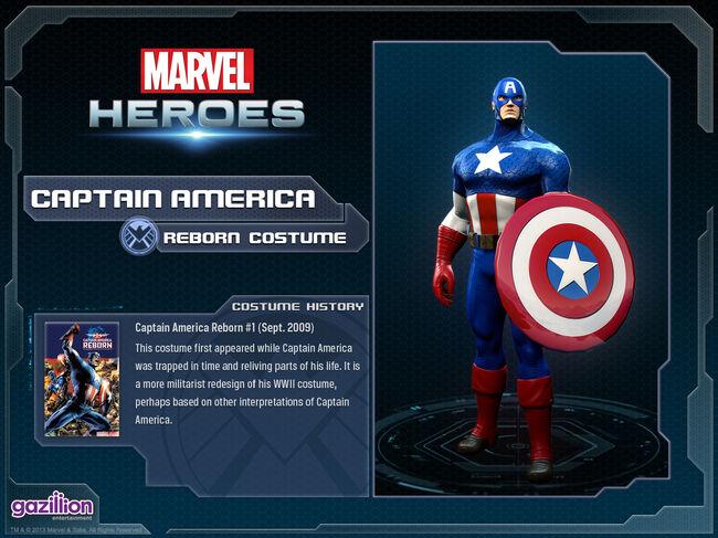 Costume captainamerica reborn