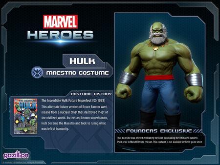 Costume hulk maestro