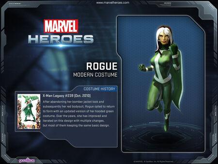 Costume Rogue Modern