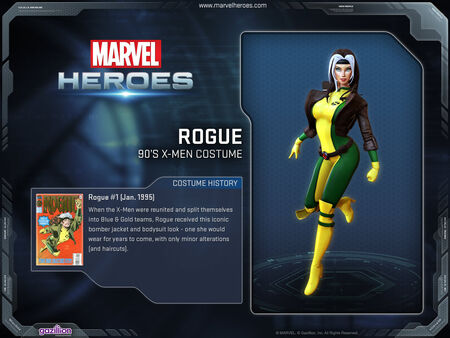 Costume Rogue 90s