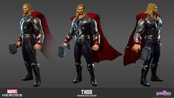 Thor Avengers Movie Model