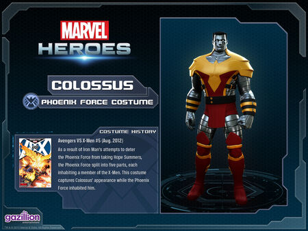 Costume colossus phoenixforce