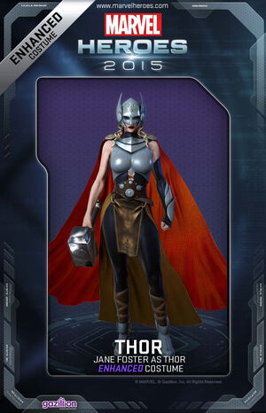Costume Thor JaneFoster