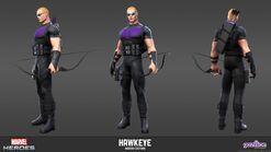 Hawkeye Modern Model