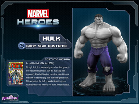 Costume hulk greyskin