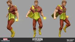 Hyperion specsheet