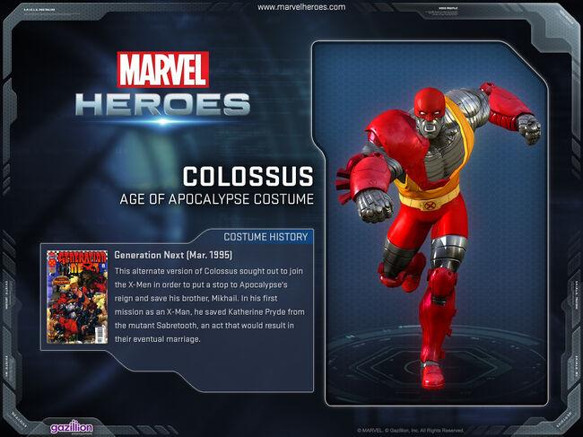 Costume colossus ageofapocalypse