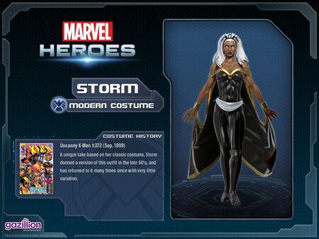 Costume storm modern