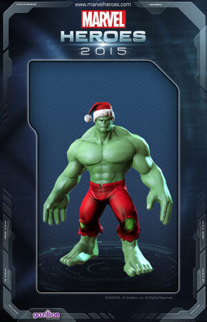 Costume hulk xmas