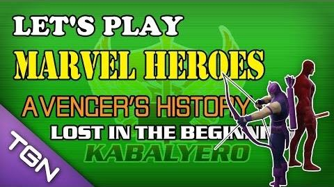 Let's Play Marvel Heroes - Avenger's History