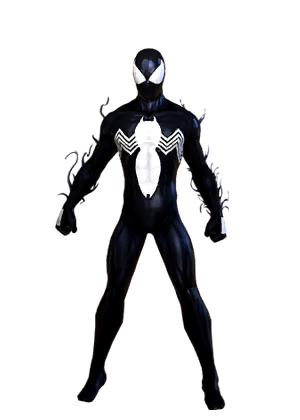 F spiderman symbiote vu