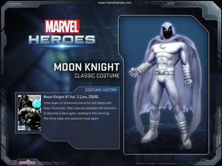 Costume moonknight classic