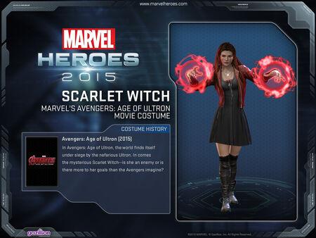 Costume scarletwitch AoU