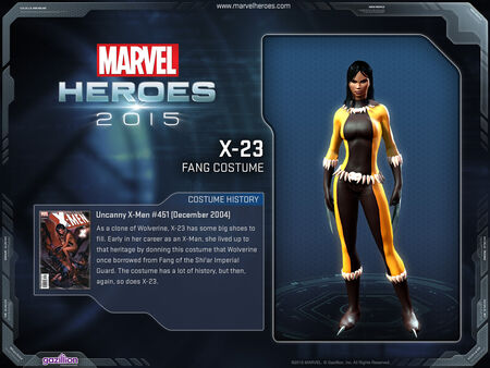 Costume x23 fang2