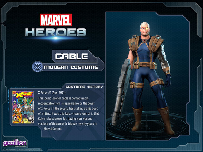 Costume cable base