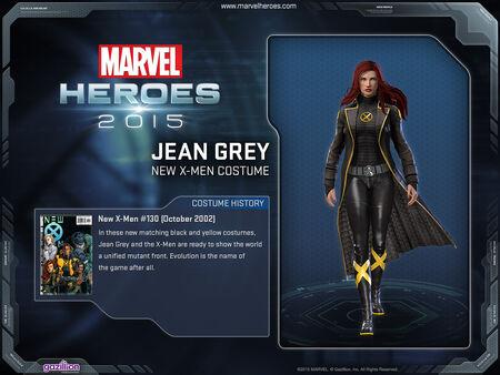 Costume jeangrey newxmen