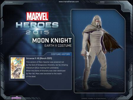 Costume moonknight EarthX