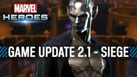 Marvel Heroes - Game Update 2.1 Siege