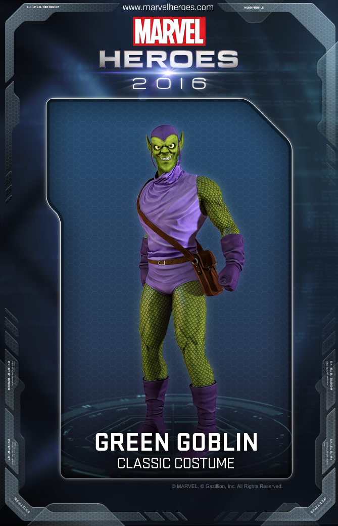 Green Goblin/Costumes | Marvel Heroes Wiki | FANDOM ...