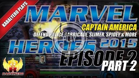WTFast & Marvel Heroes 2015 Captain America E2P2 Defend Police Barricade, Slimer, Spidey & More