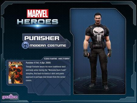 Costume punisher modern
