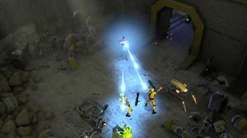 Marvel Heroes Powers Clip - Iron Man - Repulsor Barrage