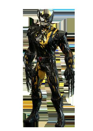 F wolverine symbiote