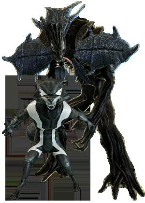 RocketRaccoon & Groot Symbiote