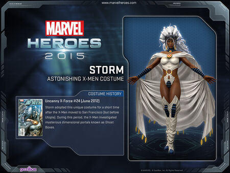 Costume storm AstonishingXmen