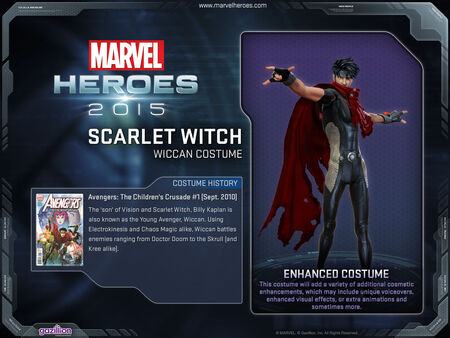 Costume scarletwitch wiccan
