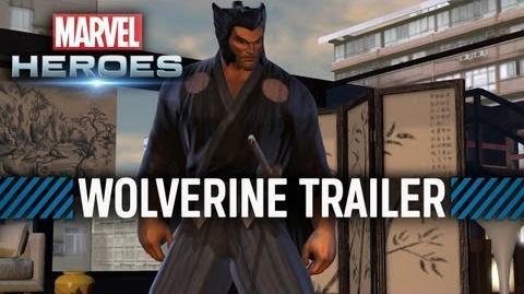 The Wolverine in Marvel Heroes