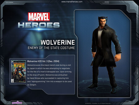 Wolverine enemy of state