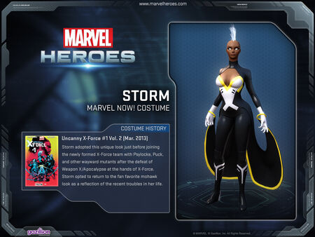 Costume storm marvelnow