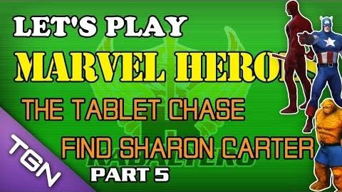 Let's Play Marvel Heroes - The Tablet Chase - Find Sharon Carter (Part 5)
