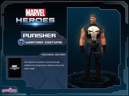 Costume punisher wartorn