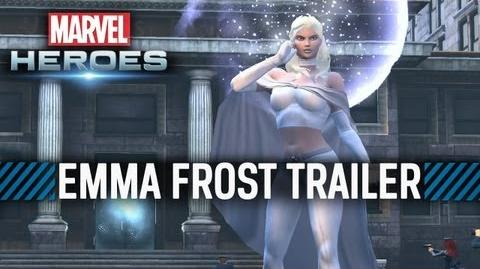 Marvel Heroes Emma Frost