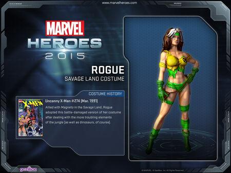 Costume Rogue savageLand