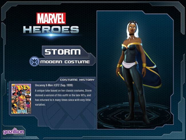 Costume storm base