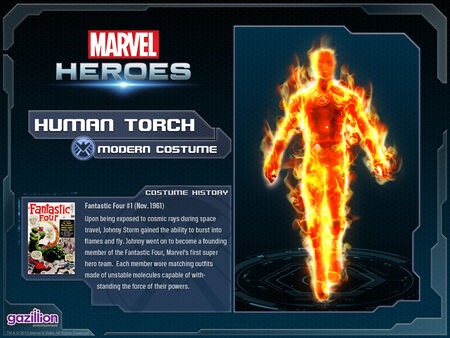 Costume humantorch base