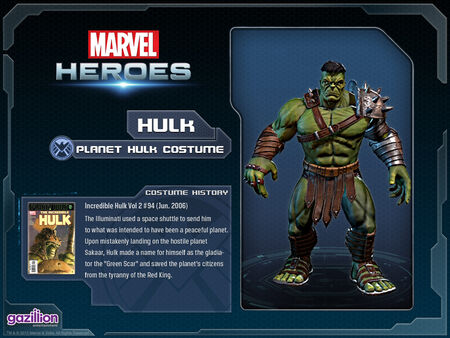 Costume hulk planethulk