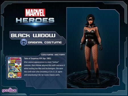 Costume blackwidow original