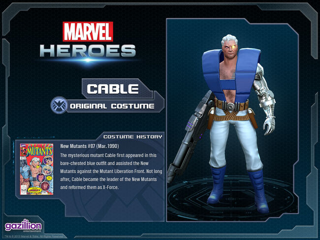 Costume cable original