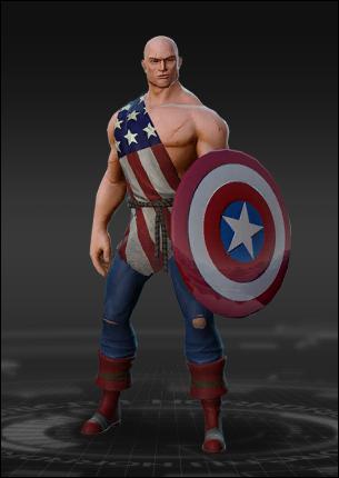 Captain America Earth X Costume